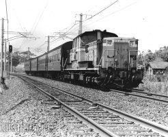 旧型客車列車・山陰本線