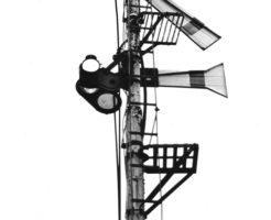 腕木式信号機